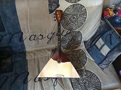 Balalaika New Original Russian 3 three String Prima. Folk instrument