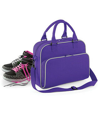 Bagbase Junior Bag Retro Style Dance Class Bag School Sport Shoulder Strap Girls