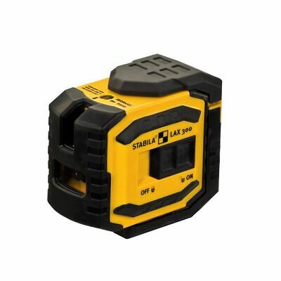 Stabila LAX300 Self Levelling Cross Line Laser Level 18327