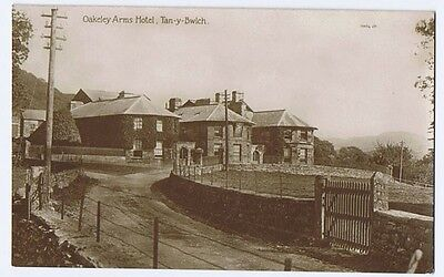 TAN-Y-BWLCH Oakeley Arms Hotel, RP Postcards Unused