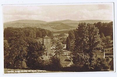 CLYRO Village and Black Mountains, Postcard by Judges Unused