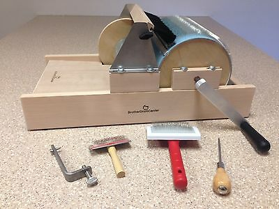 Complete Kit Standard Brother Drum Carder Packer Brush/doffer/2-Flickers/clamp