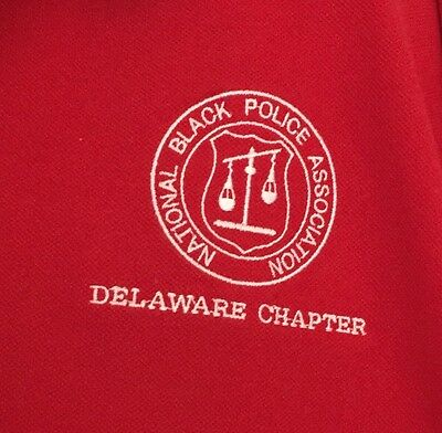 Delaware Chapter National Black Police Association 3XL 3X Shirt Red