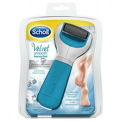 Scholl Râpe Electrique Velvet Smooth Express Pedi