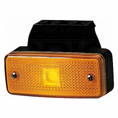 Side Marker Light with Bracket + Amber Lens | HELLA 2PS 963 959-017