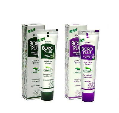 Boro Plus Herbal Skin Care Cream with Antibacterial & Antifungal Effect 25/50 ml