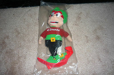 "Rare 10"" Promotional Lucky Charms Roots Olympic Plush Doll Sealed in Package"