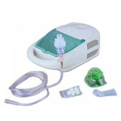 Medical Nebulizer Highly Effective Compact w Mask Children Adult Treatment