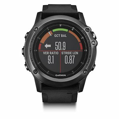 Garmin fenix 3 HR Sapphire GPS Watch Heart Rate Monitor Cycling Bike HRM Running