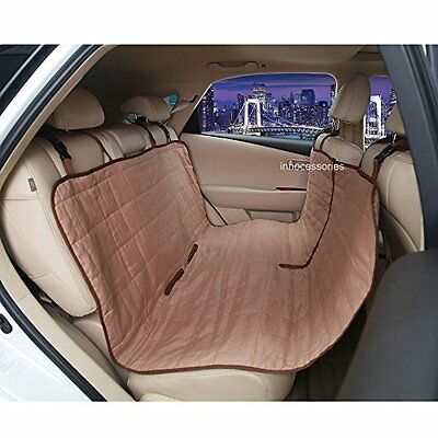 INNOCESSORIES Car Seat Protector Travel Hammock Dog Car Bench Seat Cover for Box