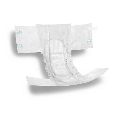 Adult Brief Diaper MEDIUM Heavy Absorbency Incontinence Care - CASE OF 80!