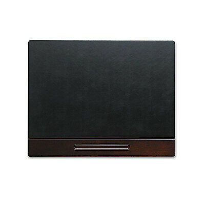 Rolodex Wood Tone Desk Pad Mahogany 24 x 19 23390