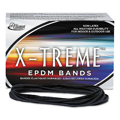 Alliance X-treme File Bands 117B 7 x 1/8 Black Approx. 175 Bands/1lb Box 02004