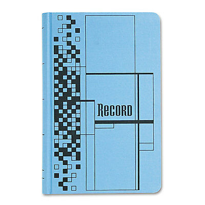Adams Record Ledger Book Blue Cloth Cover 500 7 1/2 x 12 Pages ARB712CR5