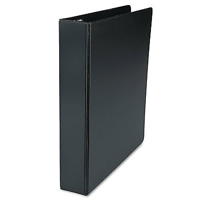 "Universal One D-Ring Binder 1-1/2"" Capacity 8-1/2 x 11 Black 20771"