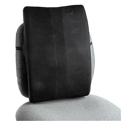 Safco Remedease Full Height Backrest 14 x 3 x 20 Black 71301
