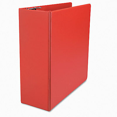 "Universal One D-Ring Binder 4"" Capacity 8-1/2 x 11 Red 20708"
