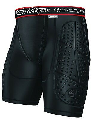 Troy Lee Designs/Shock Doctor LPS3600 Thigh Pad Shorts Motocross Body Armour MX