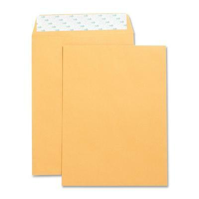 "Business Source Catalog Envelopes Self Seal Plain 9""x12"" 250/BX Kraft 42120"