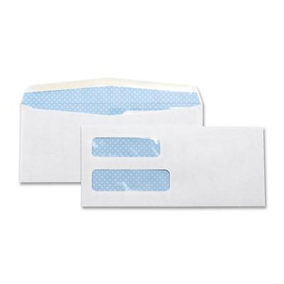 "Business Source Double Window Envelope No. 10 4-1/8""x9-1/2"" 500/BX White 36694"