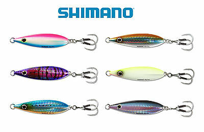 SHIMANO BUTTERFLY FLAT FALL SALTWATER JIG 130 various colors