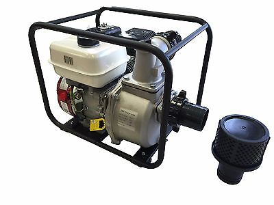7 Hp 3600 Rpm 16000 Gph 3'' Inlet Outlet Trash Water Gas Pump Epa 4 Stroke Gasol