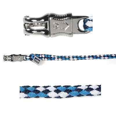Eskadron Lead Rope With Panic Hook - Skyblue/White/Navy