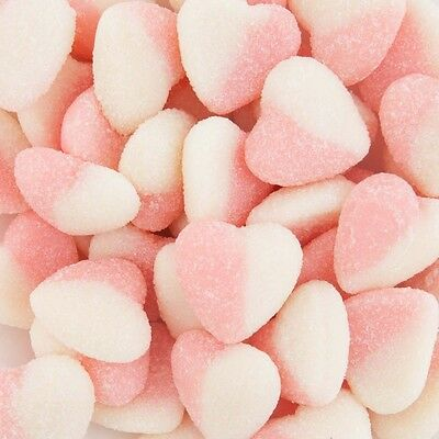 Sour Hearts Pink 1kg heart