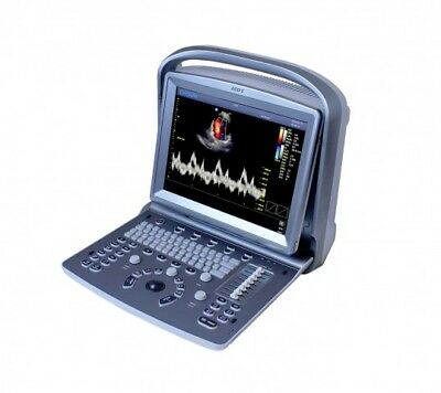 "Medical Mobile Trolley-Cart For Portable Ultrasound KM-5, KeeboMed  43"" Tall"