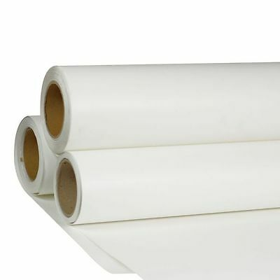 "White Color Print & Cut Heat Transfer Vinyl Film 24"" Width for T-shirts Fabric"