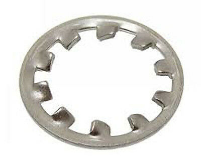 Stainless Steel A2 Metric Internal Tooth Lock Washer M3 100 Pack