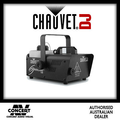 Chauvet Hurricane 1200 Portable Fog Machine BRAND NEW GENUINE