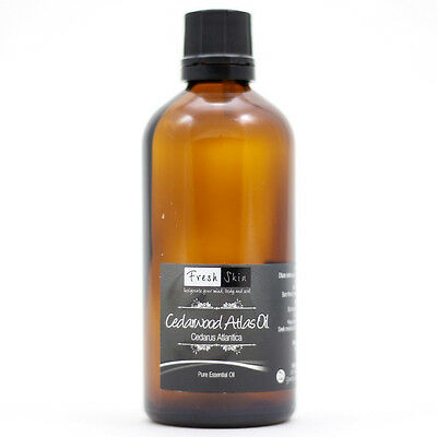 100ml Cedarwood Atlas Pure Essential Oil