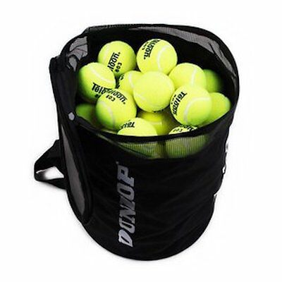 F/S DUNLOP Foldable Tennis Ball Bag for 80 balls ship from Japan