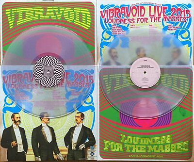 VIBRAVOID: LOUDNESS FOR THE MASSES 2LP COL.180gr. -  500 copies NEW & UNPLAYED