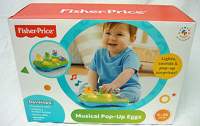 Fisher Price Musical Pop-Up Eggs