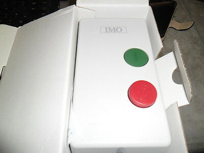 imo dol starter 7.5kw 230v a.c new and boxed
