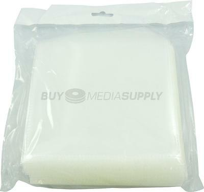 120g Clear CPP Plastic Sleeve with Flap - 1000 Pack