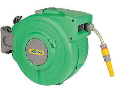 Garden Hose Reel Wall Mounted Auto Rewind Retractable Hozelock 20m Hose Pipe