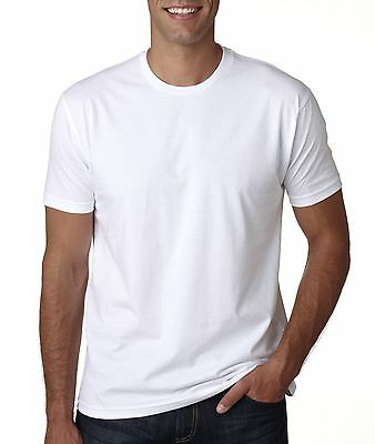 Next Level Men's Premium Crew Soft Fitted Solid Cotton   T-Shirt  3600