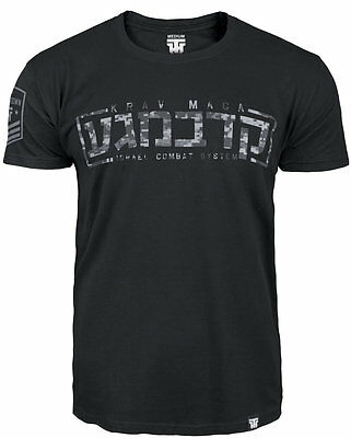 "T-Shirt Mma Krav Maga ""israel Combat System"" For Fighters Training Casual Wears"