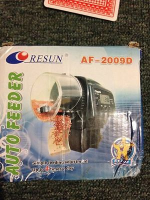 Resun AF 2009D auto feeder BRAND NEW IN BOX - FREE POSTAGE (A40)