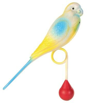 Weighted Parakeet for Perch Budgie Playmate Bird Cage Toy 12cm various colours