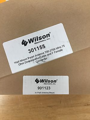 Wilson Wall Mount Panel Antenna 700-2700 MHz 75 Ohm Directional