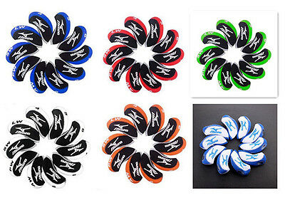 10PCS Multi-Coloured Neoprene Golf Iron Covers HeadCovers For Mizuno Irons
