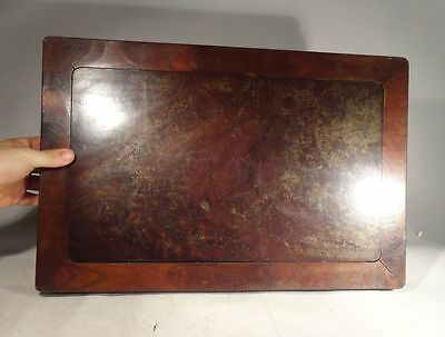 Antique Chinese Miniature Table Display Stand Fine Rosewood Huanghuali Hardwood