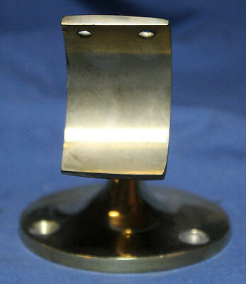 Solid Brass Handrail Bracket Vintage Brass / Bronze Composition Quantity Of 1