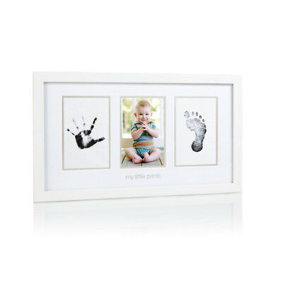 Pearhead babyprints photo frame / Baby footpting & handprint keepsake / memory