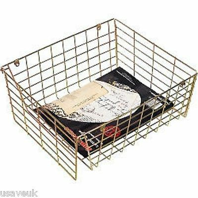 Brass Letterbox Cage Large Post Guard Dog Pet Mail Letter Box