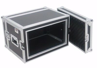 "OSP 6 Space Shock Mount Effects 14"" Deep ATA Tour Rack Road Case"